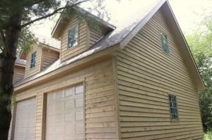 Garage-Sideview-Siding-South-Falls-Construction-Pella