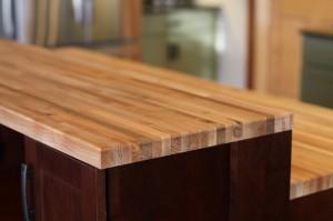 green-kitchen-butcher-block-countertop-south-falls-construction