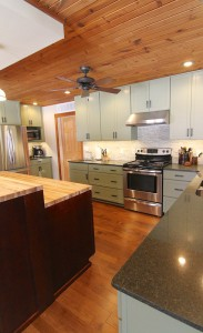 green-kitchen-with-island-south-falls-construction